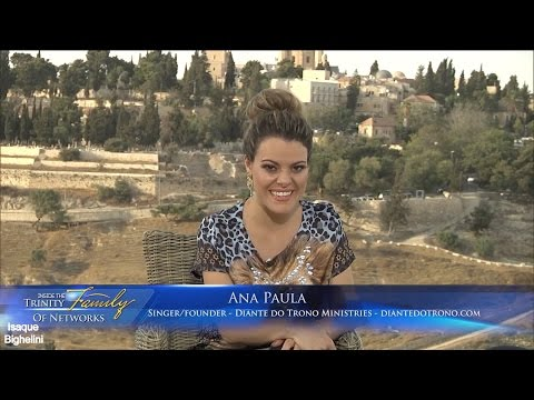 [Legendado PT] Entrevista Ana Paula Valadão - TNB TV Israel HD - EXCLUSIVO