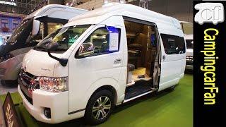 【シャングリラⅡ】エアコン標準装備でお洒落なインテリアのスーパーハイルーフバンコン Japanese campervan camping car