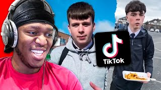Sidemen React To Ollie Ball & Jacob Paski TikToks