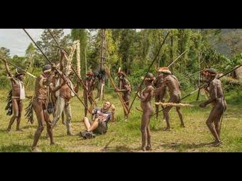 IRIAN JAYA (INDONESIA), Irian Jaya in 1992 (Part 2), Irian Jaya aborigines, Indonesia