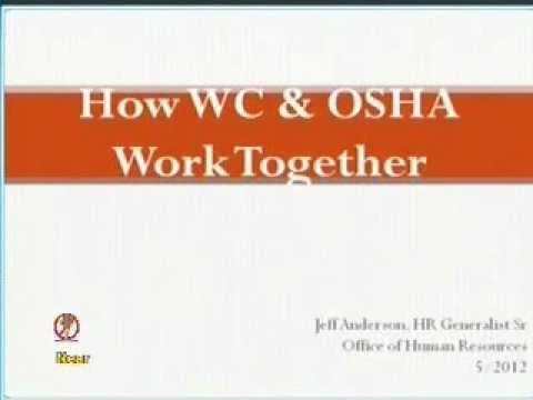 Safety Day: Workers' Compensation and OSHA