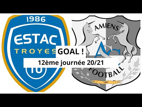 Troyes Amiens Goals And Highlights