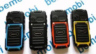 Видео обзор китайского влагостойкого телефона Nokia M8(Видео обзор противоударного телефона Nokia M8: http://bemobi.com.ua/protivoudarnyj-nokia-m8-black Данный телефон является влагостойк..., 2014-06-25T10:47:09.000Z)