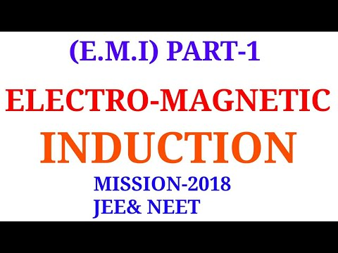 ELECTRO-MAGNETIC INDUCTION IN HINDI