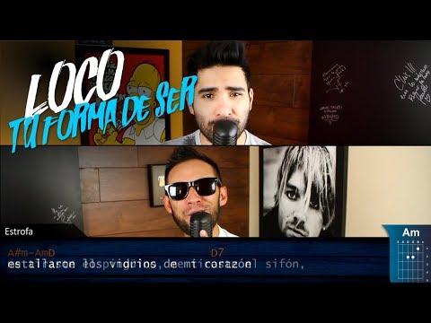 Loco Tu Forma de Ser   Los Auténticos Decadentes   COVER Acustico   Christianvib Ft. Niño Rock