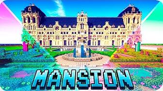 Minecraft - TOP 5 Best Mansion Houses in Minecraft - Mansions with Interior Design