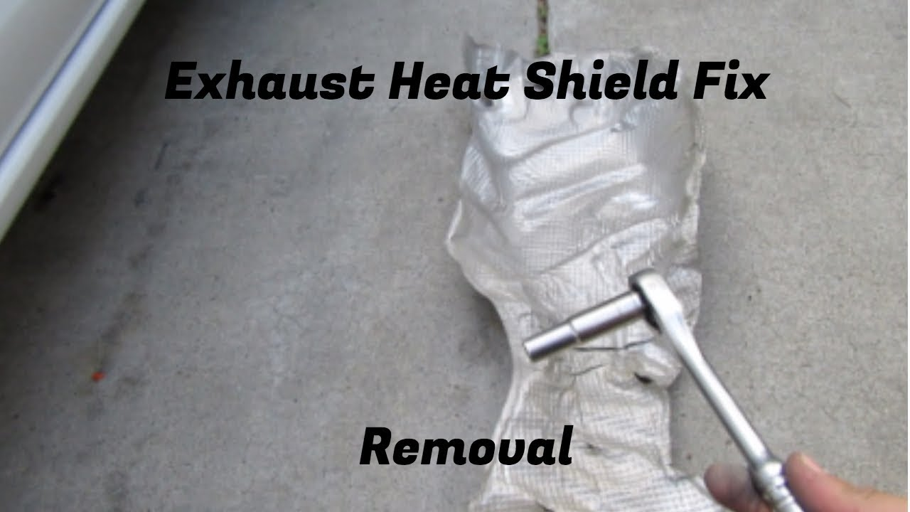 2015 Nissan Versa Heat Shield Removal/Fix