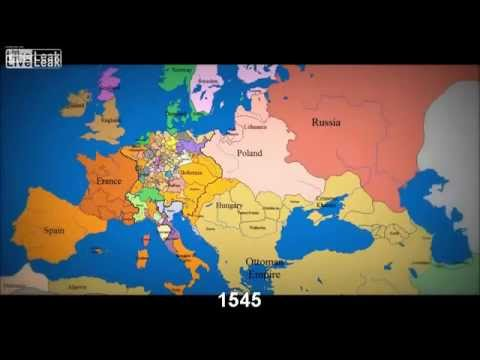 1000 lat Europy w 3 minuty from YouTube · Duration:  3 minutes 24 seconds