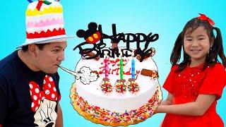 Happy Birthday Song | Jannie Sing-along Nursery Rhymes Kids Songs