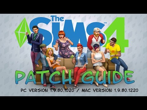 Sims 4 - Patch Guide : Half walls , Locked doors and More!