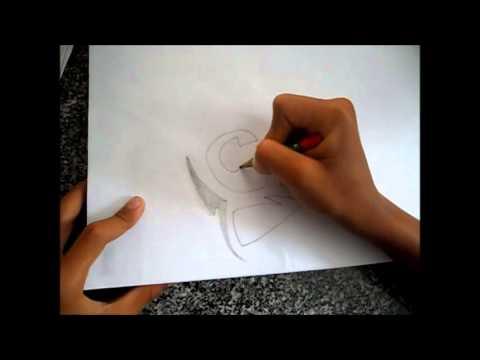 Como Desenhar Tubarao Tribal Parte 1 Youtube