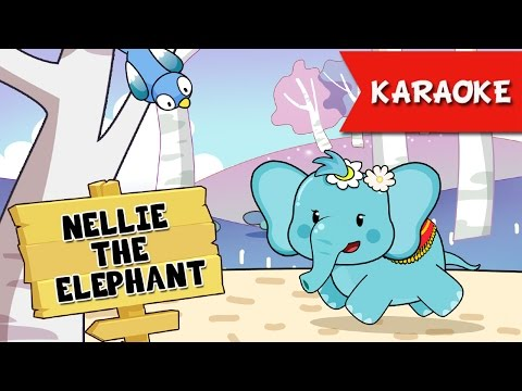 Nellie the Elephant Toy dolls Song Karaoke | Nursery Rhymes TV Lyrics