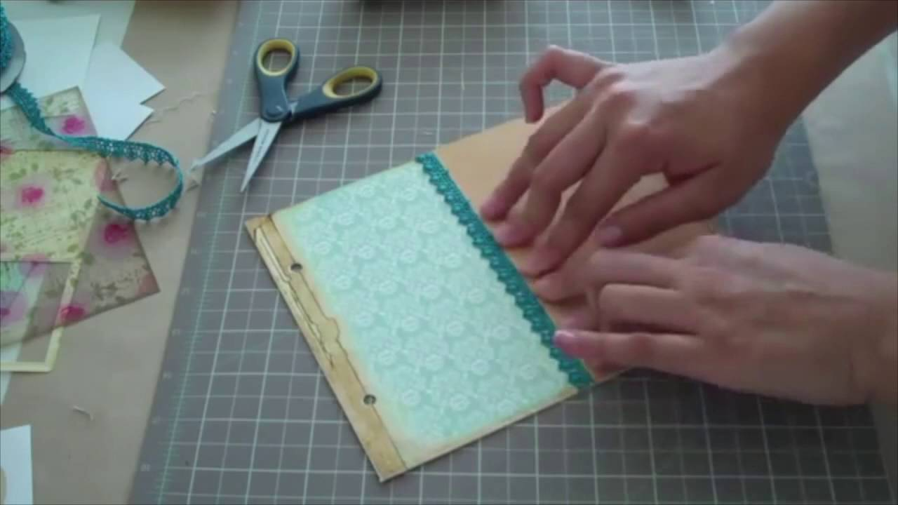 how to make your own planner and recipe book timelapse youtube