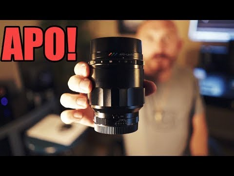 The Awesome Voigtlander 65 f/2 APO Lanthar Lens on the Sony A9!