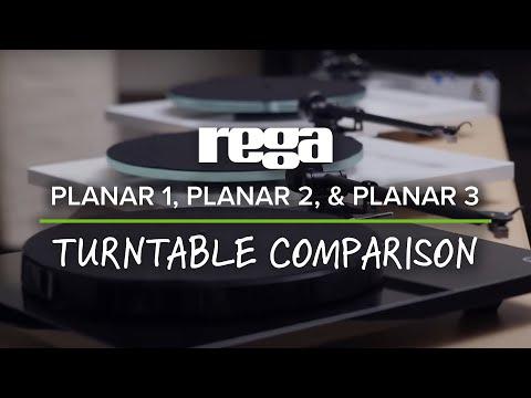 Rega Planar 1, Planar 2, & Planar 3 Turntable Comparison (2016)