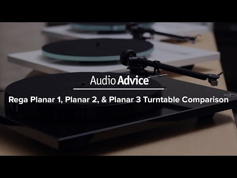 Rega Planar 1, Planar 2, & Planar 3 Turntable Comparison (2016)