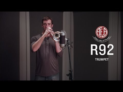AEA R92 Front - Trumpet - Listening Library