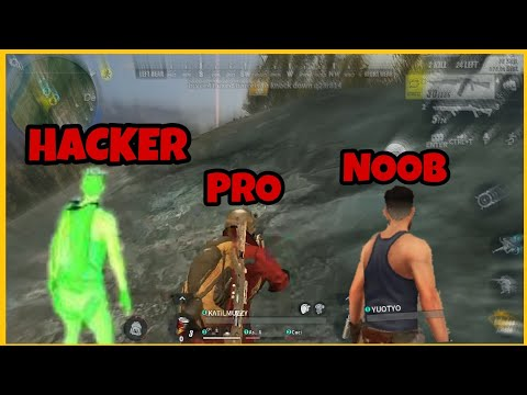 PRO VS NOOB VS HACKER - RULES OF SURVİVAL