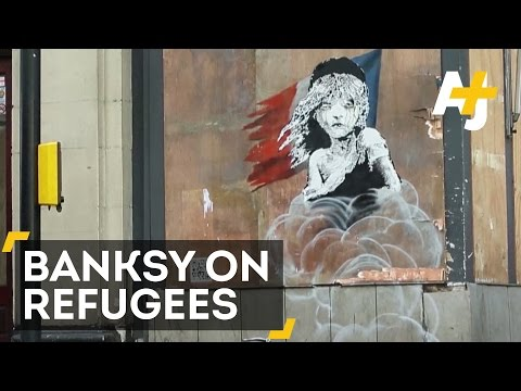Banksy's Latest Artwork Criticizes France's Treatment Of Refugees