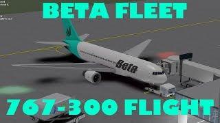 Roblox | Beta Fleet 767-300 Flight