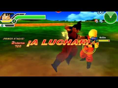 Dragon Ball Z Tenkaichi Tag Team | Gameplay Español |#1 :Radiz muere