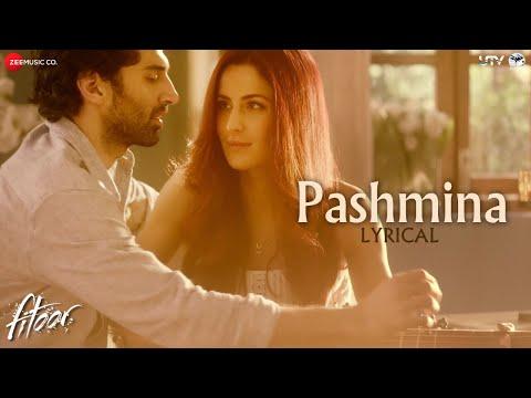 Pashmina - Lyrics Video | Fitoor | Aditya Roy Kapur, Katrina Kaif | Amit Trivedi