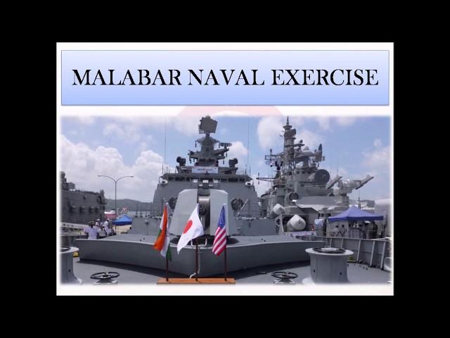 India, US & Japan Conduct Malabar Naval Exercise- Indian Navy Defence Taiyari