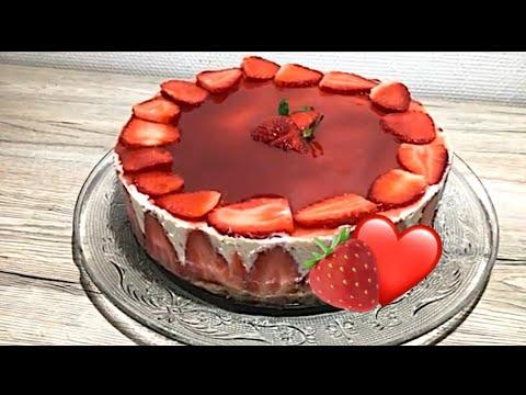 cheesecake-à-la-fraise