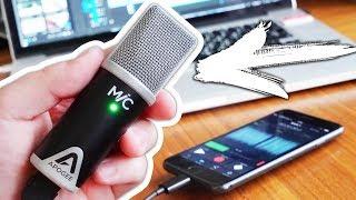 Очень качественный айфон микрофон