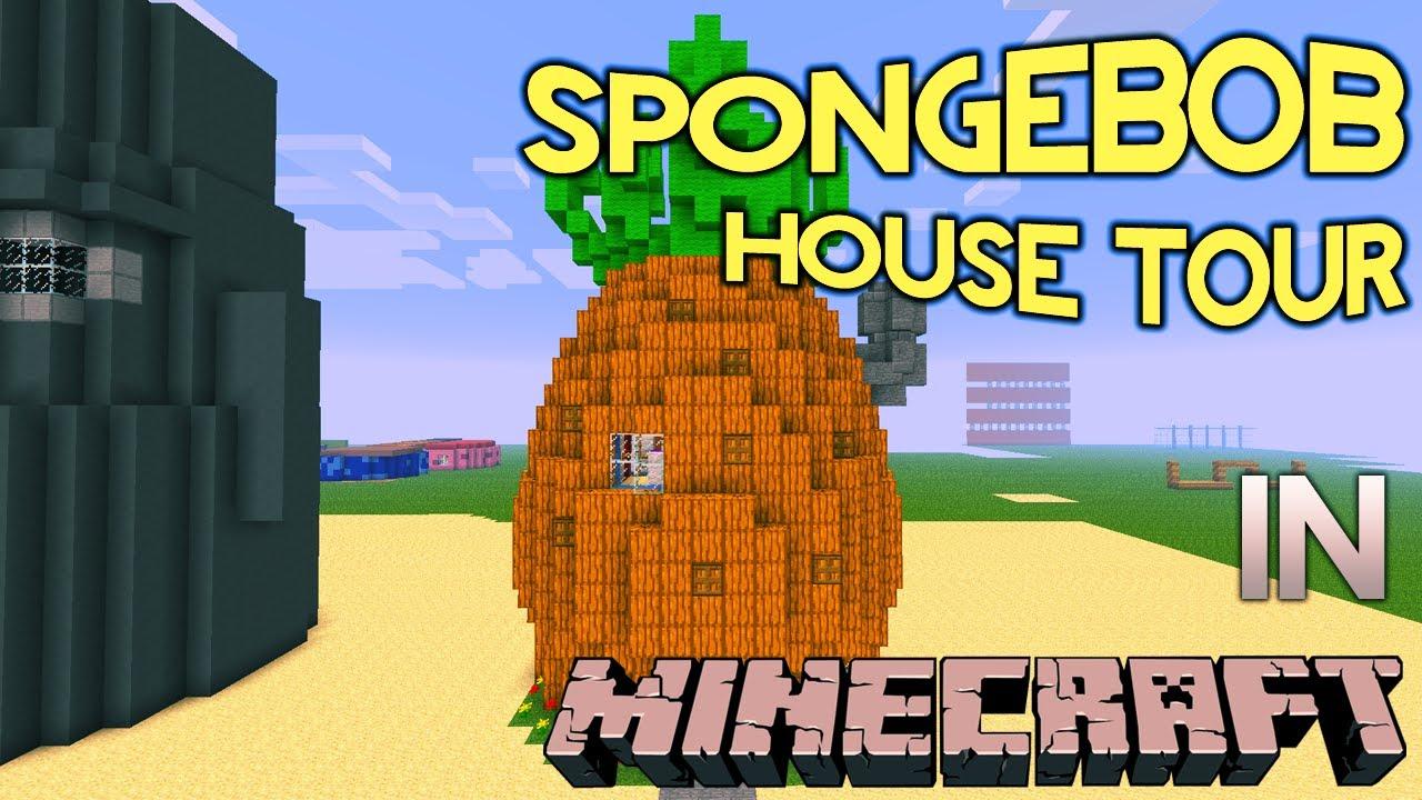 Spongebob s house layout