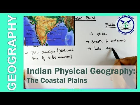 The Coastal Plains: Physical features of India | SSC Geography | by TVA