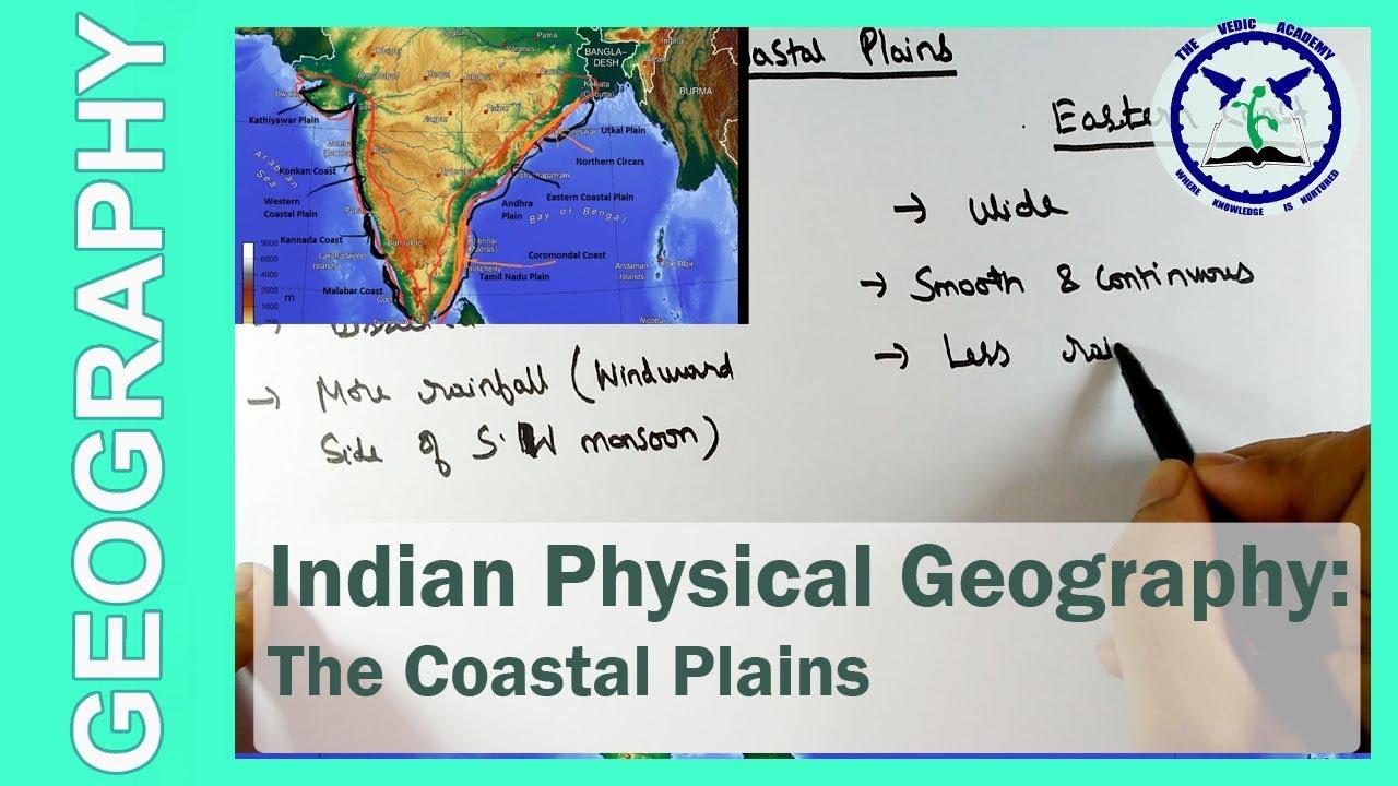 the coastal plains of india