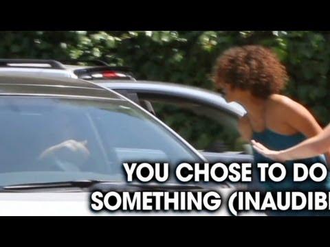 Halle Berry screams at paparazzi