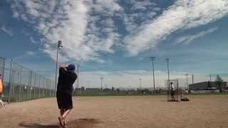 2015 aidan teague mac kids charity softball classic hitting exhibition steele lewis