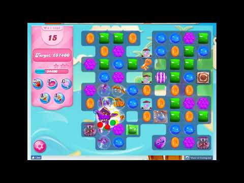 Candy Crush Level 1638 Audio Talkthrough, 2 Stars 0 Boosters