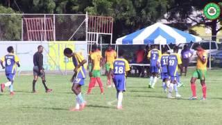 Grenada vs St. Lucia Highlights - Windward Islands School Games 2016