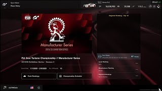 Gran Turismo®SPORT 2020 FIA Manufacturer S3 R1