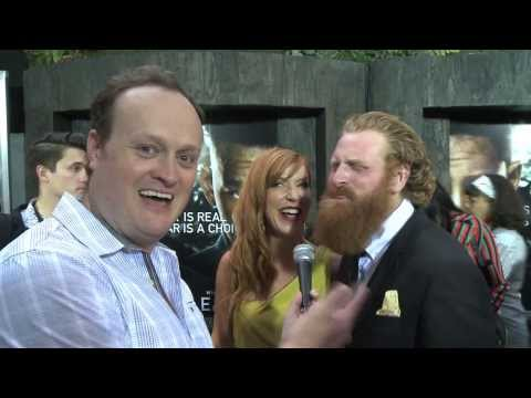Kristofer Hivju aka Tormund from Game of Thrones talks red heads with Brad Blanks