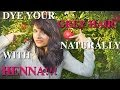 DIY Natural Henna Hair Dye: How to dye your gray/white hair naturally
