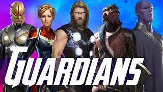 Thanos Origins & Thor 4 in Phase 4 + Cosmic Villains of The Eternals & Guardians of the Galaxy 3