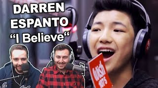 "Singers Reaction/Review to ""Darren Espanto - I Believe"""