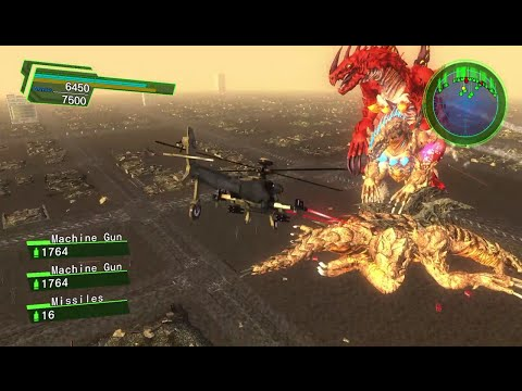 EDF Earth Defense Force 4.1 Mission 67 Battle of Giants Air Raider Inferno