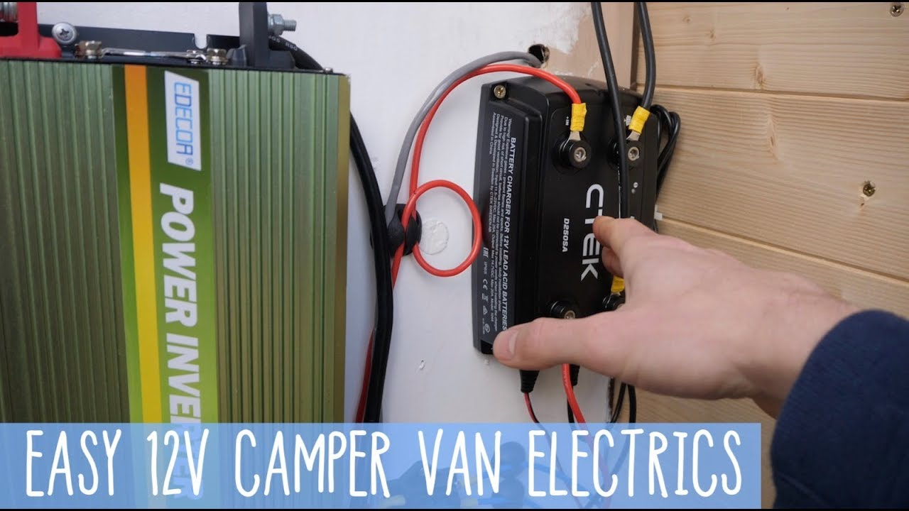 How To 12v Camper Van System Smart Alternator - Update  Refresh   Wire Diagram