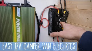 HOW TO 12V Camper Van System SMART ALTERNATOR - UPDATE/REFRESH + Wire Diagram!