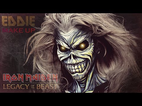 JROD - Iron Maiden Make Up How To