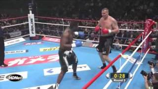 Semmy Schilt (Holland) vs Errol Zimmerman (Curacao) K-1 World GP 2010 Yokohama Round 3
