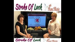 """Knowledge is POWER"" ~ August 11, 2019 ~ RenéMarie, Stroke of TV Luck Show"