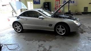 Mercedes SL500 R230 Autogas Fertig umgebaut mit der Prins VSI