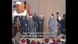 Ulama Besar Al-Azhar menegur Mubarak