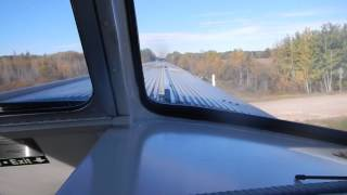 端から端まで乗れば一週間かかるカナダの大陸横断鉄道。 みんな車窓の景...